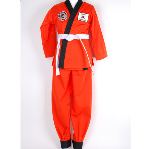 맞춤도복(USA_HAPKIDO-ORANGE(A)